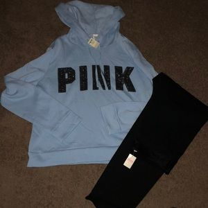 Victoria secret pink nwt outfit 💕😊 size large